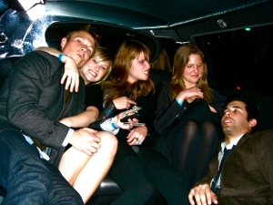 accidental limo ride