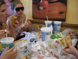 midbrow: $5 foot longs at subway